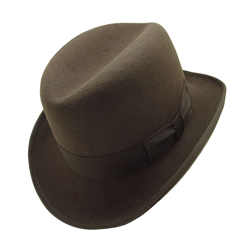 c444aa5522b Buy HATsanity Womens Vintage Wool Felt Soft Cadet Pillbox Hat in ...