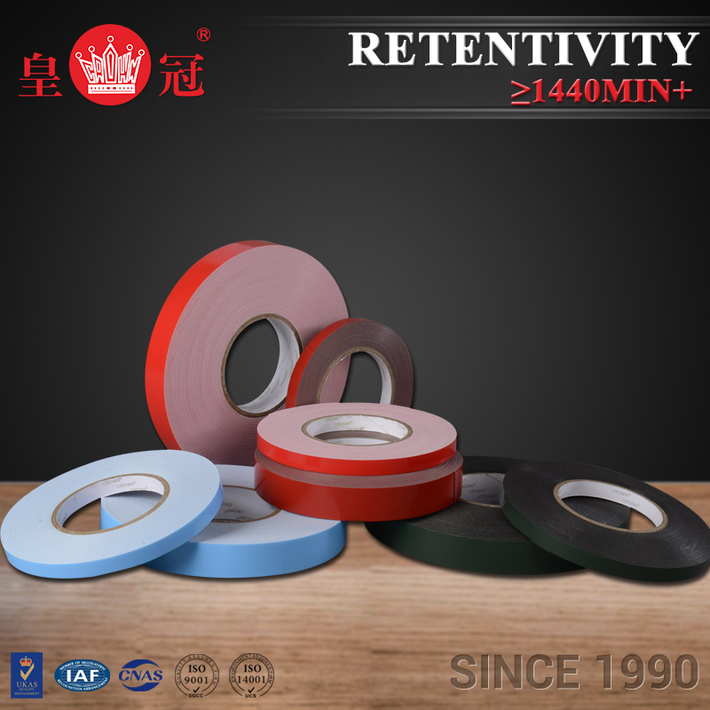 Best Selling Products heat resistant foam tape adhesive backed foam rubber