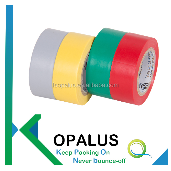 Various styles coloured insulation tape, electrical pvc tape