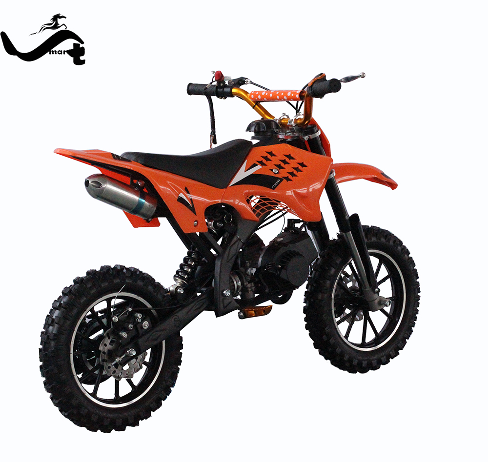 The front fork of pit bike dirt bike 125cc electric start