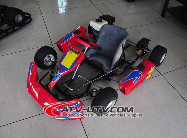 Kids 4 Stroke 90cc Cheap Racing Go Kart With Go Kart Frame Sale
