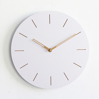 Modern decoration wooden wall clock