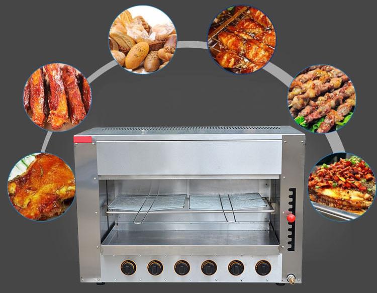 Well-Selling Kitchen Equipment Gas Salamander Kitchen Salamander