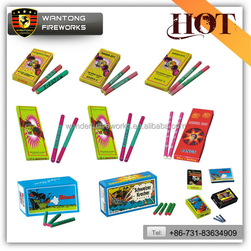 High quality Chinese firecrackers wholesale match crackers and bangers cracker fireworks pop pop fireworks