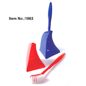 HQ1863 for Australia market white plastic toilet brush with holder set