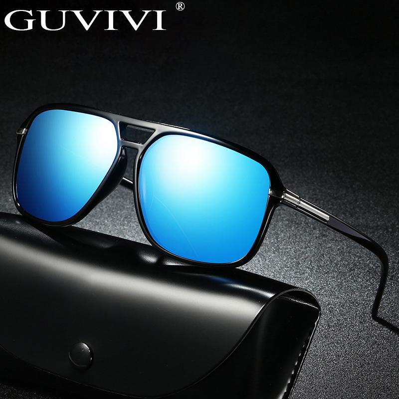 GUVIVI Uv sunglasses for men oversized classic wholesale Sunglasses mens polarized, Mix