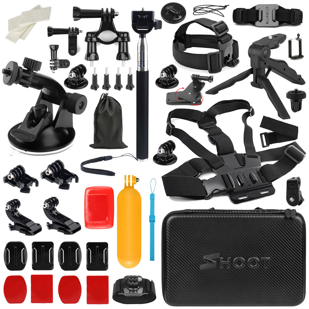 Wholesale Price Action Camera Accessories for Gopro hero 6 camera, for Gopro Hero 5 Accessories Sets
