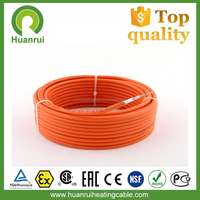 Fluoropolymer Electric Installation Under Tile Pipe Flooring Heated Cable