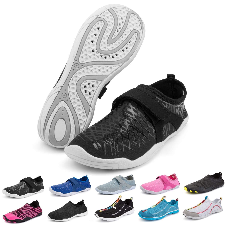 Bridawn Mens Womens Water Shoes, Quick Dry Barefoot Sock Aqua Sport Shoes