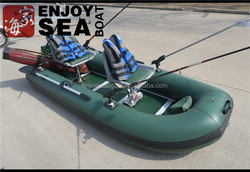 Wholesale heavy duty pvc inflatable fishing boats fishing for Inflatable fishing boats