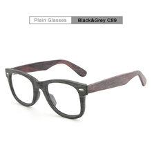 AZB мужские негабаритные оправы для очков при близорукости деревянная оправа с прозрачными линзами дальнозоркость дальнозоркие очки оправа...(Китай)