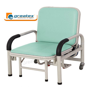 Hospital chair cum bed convertible