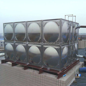 100m3 Stainless Steel Square Water Storage Tank/Panel Tank SS304 Water Tank/Drinking Water Tank