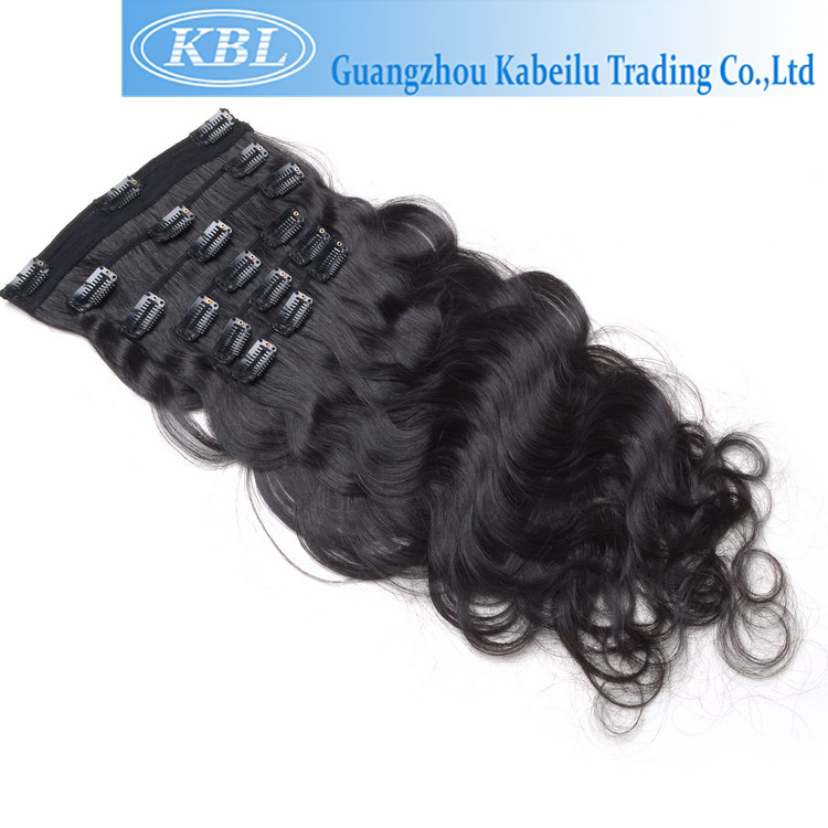 cheap wholesale dark blonde hair extensions clip on,excellent quality hairextensions clip on indian