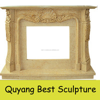 stone fireplace surround fire place mantel