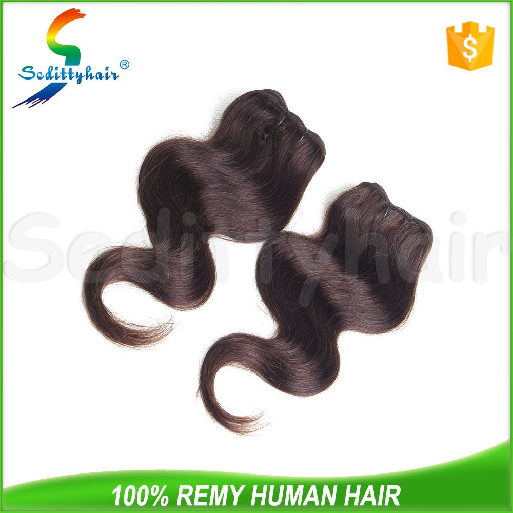 wholesale hair extension gray hair weave 100 percent indian remy human hair