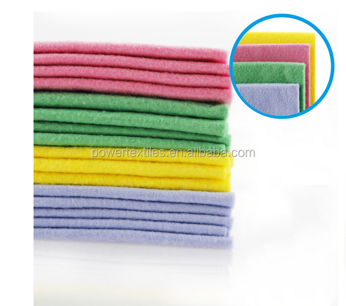 Rayon non woven magic cleaning cloth