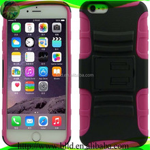 Factory Wholesale PC TPU Robot Combo Holster Cell Phone Case For Iphone 6 plus
