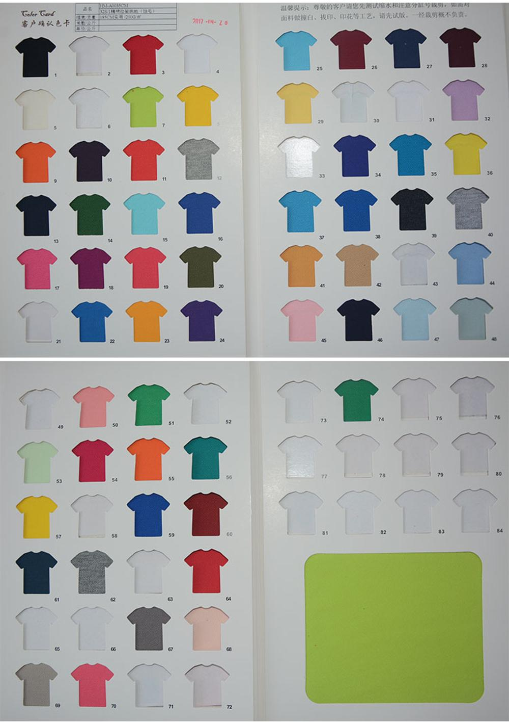 Breathable and Refreshing Pique Polo Shirt Use Spandex 32S Cotton Pique Fabric