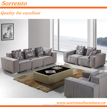 contemporary commercial philippine furniture modern sofa set washable living room SORRENTO 587A#