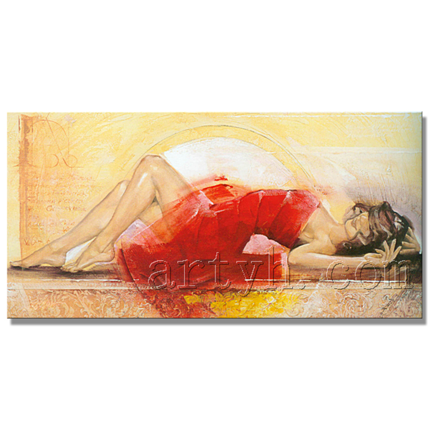 Popular Modern Woman Oil Painting Pictures Nude In Discounts