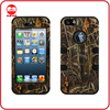 Popular New Fadeleaf Triple Layer Armor Shock Proof Combo Hybird Silicone PC Case for iphone 5