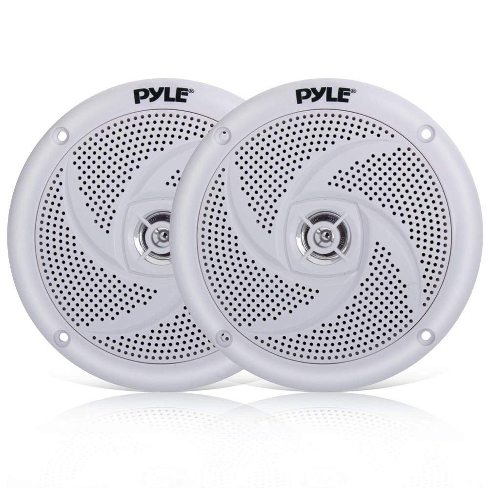 "Pair 5.25/"" inch 5 1//4/"" Car Audio Stereo 3-Way Sound Replacement Speakers PLG5.3"