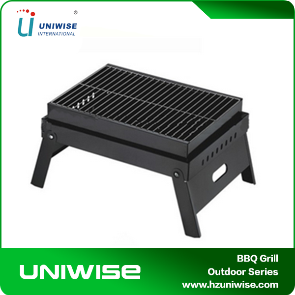 "Foldable Japanese Yakitori Charcoal BBQ Grill For Sale /18.5"" Portable BBQ Outdoor grill"