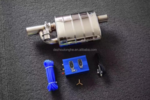 New Style Car Exhaust Muffler with Electronic Remote Control valve