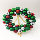 Christmas Tree Decoration Flower Xmas Ball String Wreath Garland