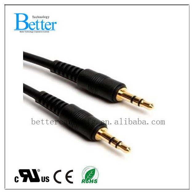 Super quality Best-Selling right angle 3. trs audio cable