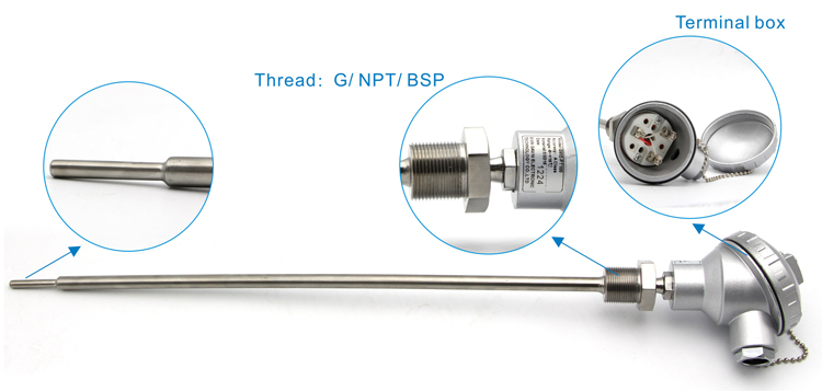 K Type Sensor Right Angle Surface Temperature Probe High Temperature Thermocouple 50 to 500℃ 1 Pieces