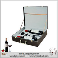 Bottle Leather Wine Carrier Red Wine Special Box