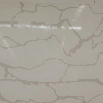 White Agglomerated Stonereconstituted Stoneartificial Pure Marble Slab