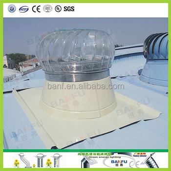 600 mm transparent lighting wind driven roof turbine ventilator - Roof Turbine