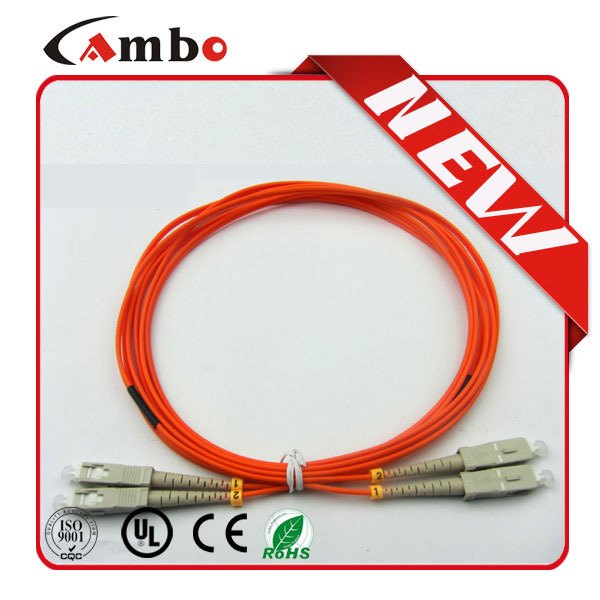 Fiber optic patch cord Cable Low Insertion Loss SC LC FC Simplex / Duplex 3.0 mm
