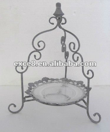 8008202F-3 Serving tray cake & fruit stand