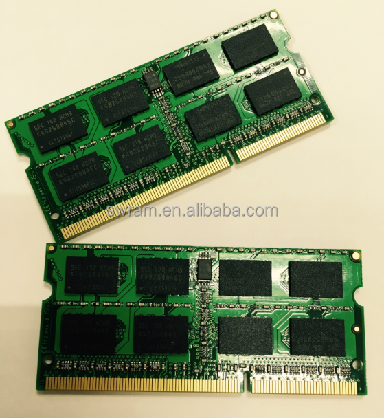 factory stock laptop 16ic ram ddr3 8gb 1600mhz pc3-12800 memory modules 204pin sodimm all compatible