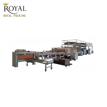 Mjsgl-4 Corrugated Cardboard Production Line Single Facer (2 Layer  Corrugator,Double Wall Corrugated Board Plant) - Buy Single  Facer,Corrugated Board
