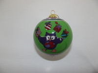 Wholesale inside painted glass christmas ball from Shenzhen factory