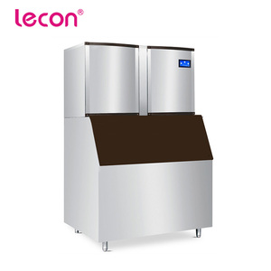 Lecon Large Output 1000kg/Day Instant Industrial Ice Maker