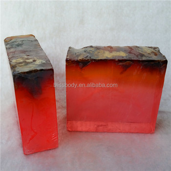 wholesale colorful organic hotel bath transparent soap with petals for best selling all fragrance