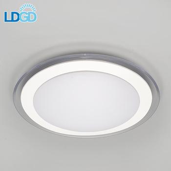 Langde 2017 New Design Led Flush Mount Pin Plastic Ceiling Light Covers