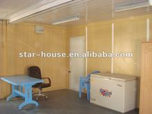 low cost living steel structure prefab container units