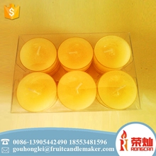 Factory selling household colorful branded tea light candle