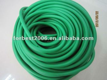 Green elastic Latex tubing,Latex rubber tube