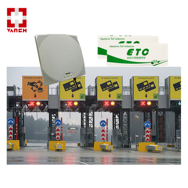 uhf rfid IP67 water proof reader with LED Indicator