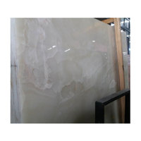Wholesale clean translucent white marble onyx stone