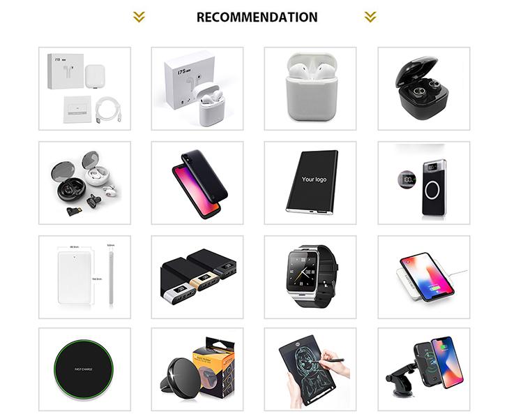 Pronto per la spedizione 2019 nuovo arproducts wireless banca di potere del caricatore 10000 mah QI di ricarica banca portatile di potere caricabatteria rapido
