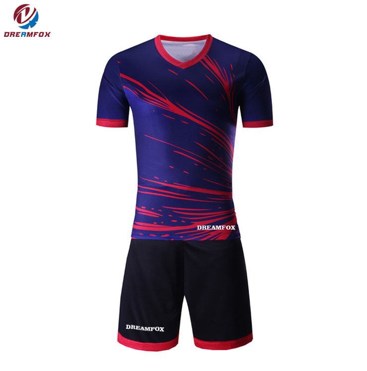 9d544179a Hot sale online custom design reversible soccer jerseys football shirts  with your names and numbers for team